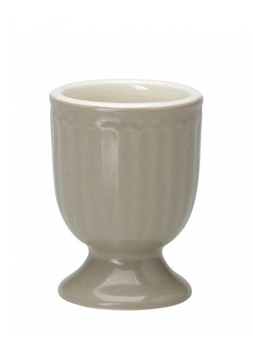 "GreenGate Eierbecher ""Egg cup Alice"" warm grey"