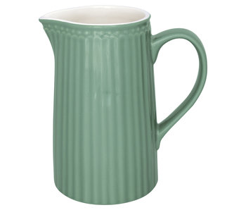 "GreenGate Krug ""Jug Alice"" dusty green 1L"