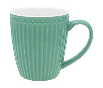 "GreenGate Henkelbecher Mug ""Alice"" dusty green"