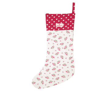 "GreenGate Nikolausstrumpf ""Stocking Avery white"""