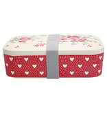 "GreenGate Lunch box ""Elouise white"""