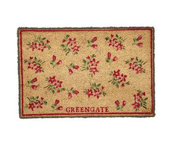"GreenGate Türmatte ""Avery white"""