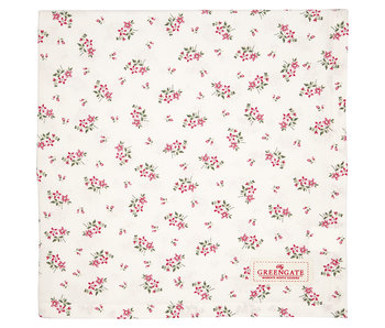 "GreenGate Tischtuch ""Avery white"" 100x100cm"