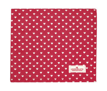 "GreenGate Tischtuch ""Penny red"" 130x170cm"