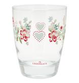"""GreenGate Wasserglas """"Sonia white"""""""