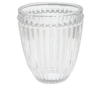 "GreenGate Wasserglas ""Alice"" clear"