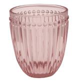"GreenGate Wasserglas ""Alice"" pale pink"