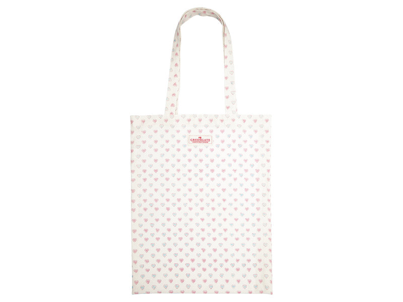 """GreenGate Stofftasche """"Penny white"""""""