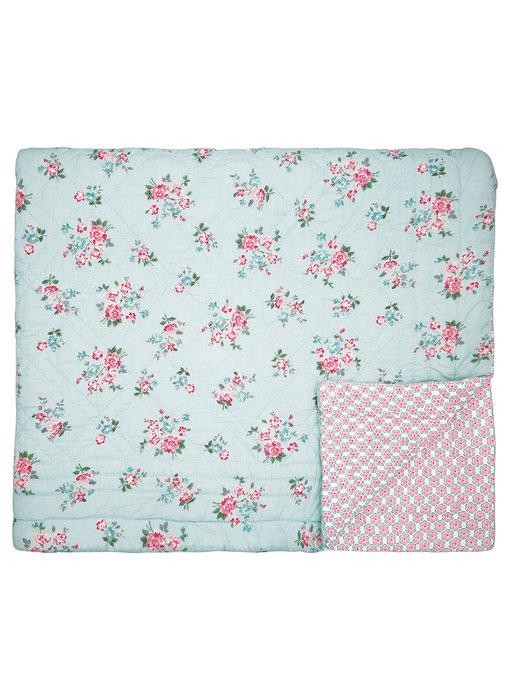 "GreenGate Quilt ""Sonia pale blue"" 180x230cm"