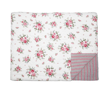"GreenGate Quilt ""Elouise white"" 250x260cm"