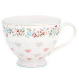 "GreenGate Teacup ""Sonia white"""