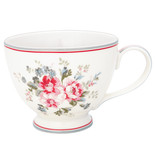 "GreenGate Teacup ""Elouise white"""