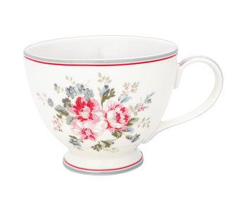 "GreenGate Teacup ""Elouise white"""