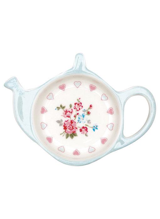 """GreenGate Teebeutelablage """"Sonia white"""" Teabag holder"""