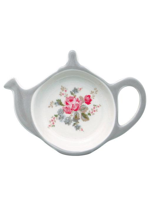 """GreenGate Teebeutelablage """"Elouise white"""" Teabag holder"""