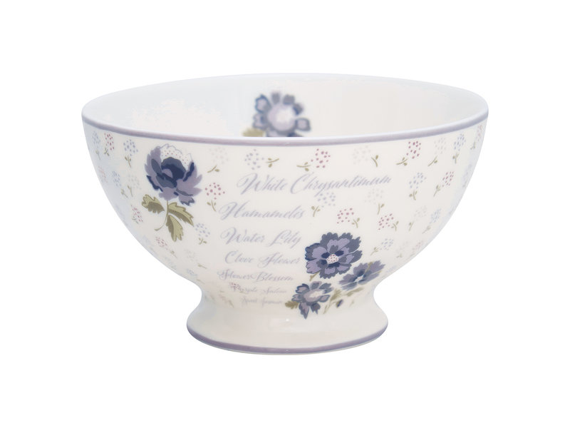 """GreenGate Suppenschale """"Soup bowl Beatrice white"""""""