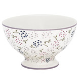 GreenGate Snack bowl Ginny white