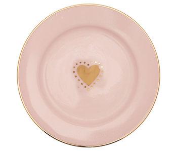 "GreenGate Kuchenteller ""Small plate  Penny gold"" 15 cm"