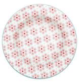 "GreenGate Kuchenteller ""Small plate  Leah pale pink"" 15 cm"