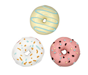 GreenGate Magnet Donut pastel mix set of 3
