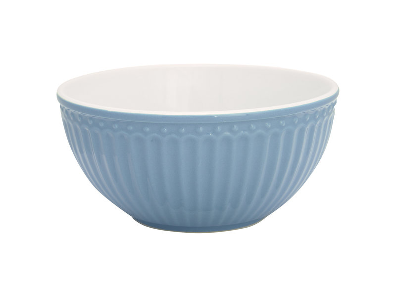 "GreenGate Schüssel ""Cereal bowl Alice"" sky blue"