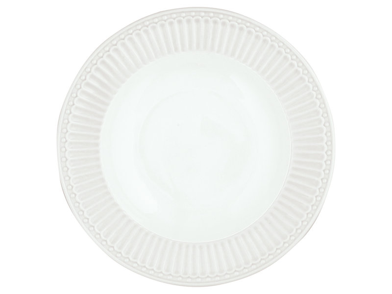 "GreenGate Tieferteller ""Deep plate Alice"" white"