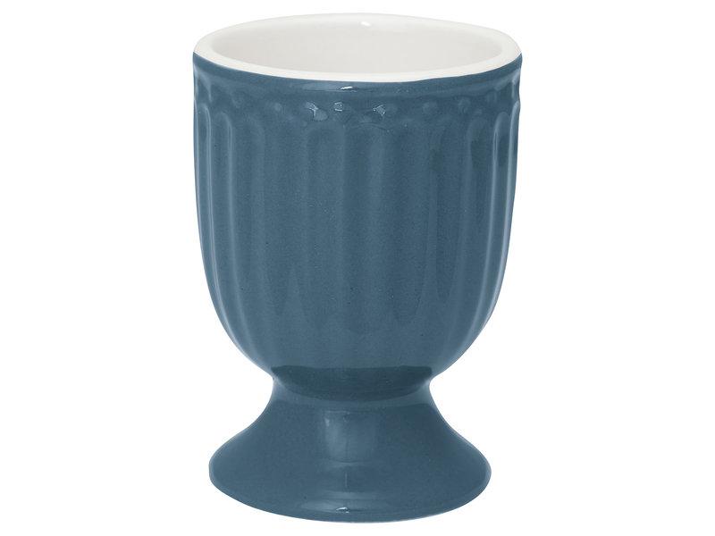 """GreenGate Eierbecher """"Egg cup Alice"""" ocean blue"""