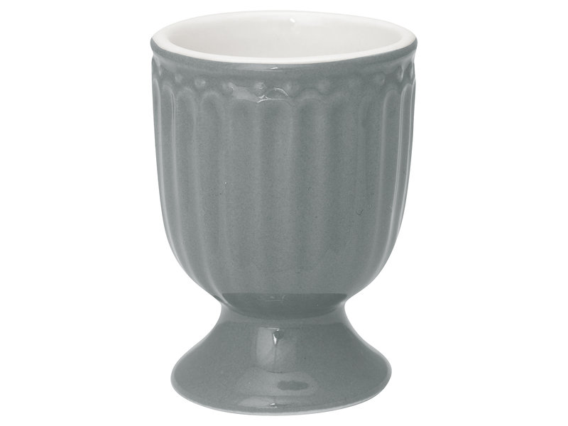 "GreenGate Eierbecher ""Egg cup Alice"" stone grey"