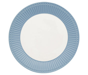 "GreenGate Frühstücksteller ""Plate Alice"" sky blue"