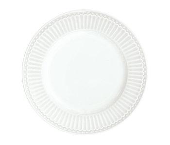 "GreenGate Kuchenteller ""Plate small Alice"" white"
