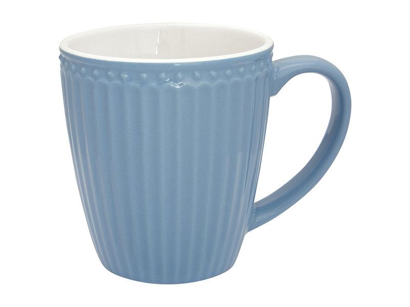 "GreenGate Henkelbecher Mug ""Alice"" sky blue"