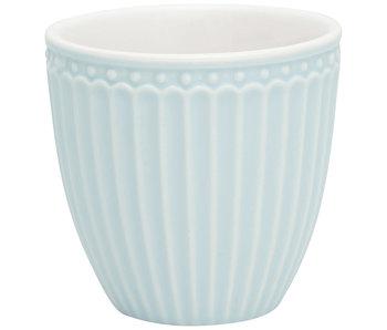 "GreenGate Mini Latte cup ""Alice"" pale blue"