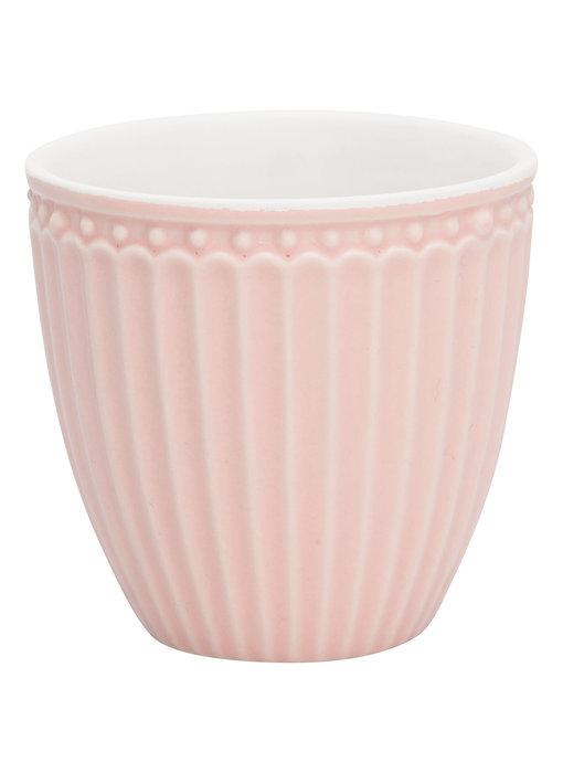 "GreenGate Mini Latte cup ""Alice"" pale pink"