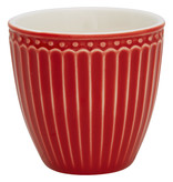 "GreenGate Mini Latte cup ""Alice"" red"
