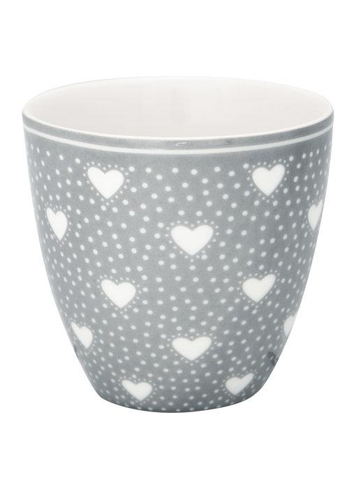 "GreenGate Mini Latte cup ""Penny grey"""