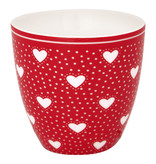 """GreenGate Mini Latte cup """"Penny red"""""""