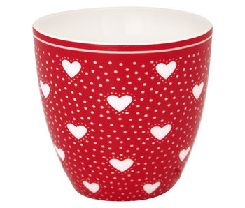 "GreenGate Mini Latte cup ""Penny red"""