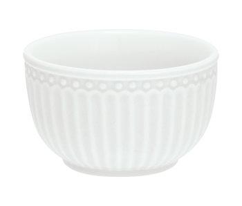 """GreenGate Mini bowl """"Alice"""" white"""