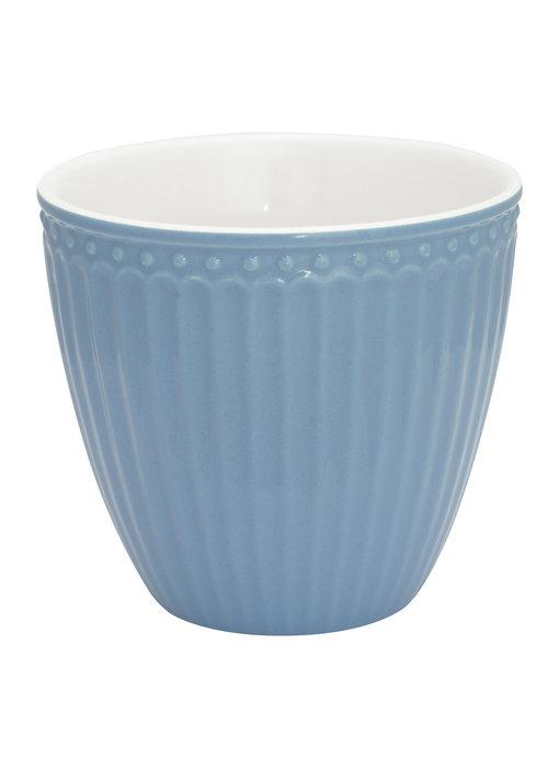 "GreenGate Becher ""Latte cup Alice"" sky blue"