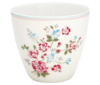 "GreenGate Latte Cup ""Sonia white"""