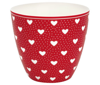 "GreenGate Latte Cup ""Penny red"""