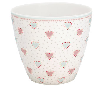 "GreenGate Latte Cup ""Penny white"""