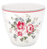 """GreenGate Latte Cup """"Elouise white"""""""