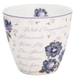 """GreenGate Latte Cup """"Beatrice white"""""""