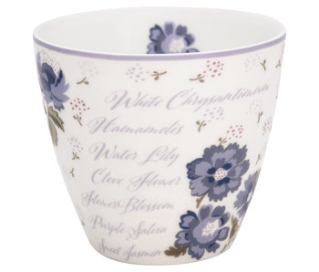 "GreenGate Latte Cup ""Beatrice white"""