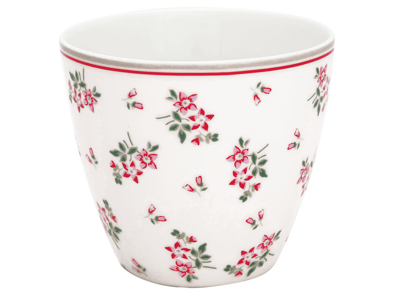 """GreenGate Latte Cup """"Avery white"""""""