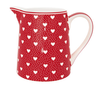 "GreenGate Krug ""Penny red"" 0,5L"