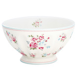 "GreenGate French Bowl xlarge ""Sonia white"""