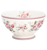 "GreenGate French Bowl xlarge ""Elouise white"""