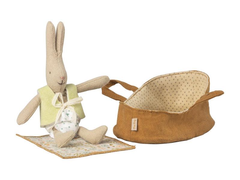 Maileg  Micro Rabbit mit Tragetasche